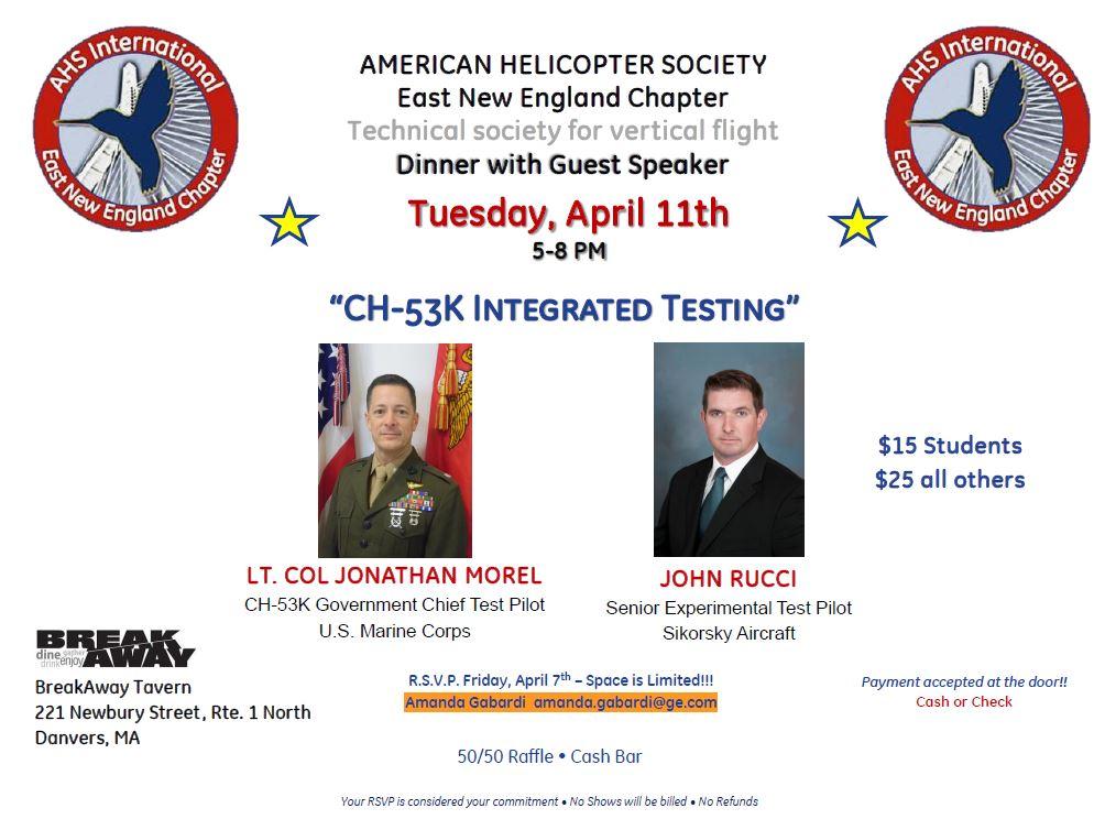 AHS ENE CH-53K Announcement